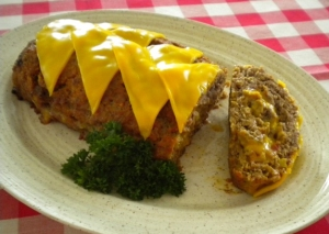 cheeseburger meat loaf