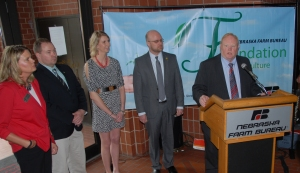 FFA news conference ag teacher loan program