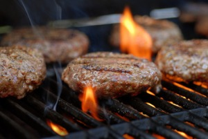 Grill -burgers