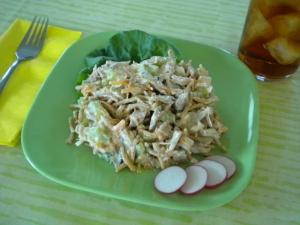 chicken tuna chow mein salad