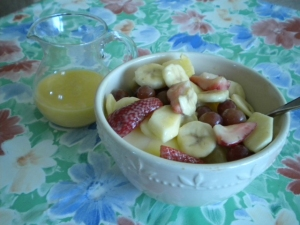 mom's fruit salad dressing