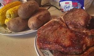 Steak and Potatoes Done