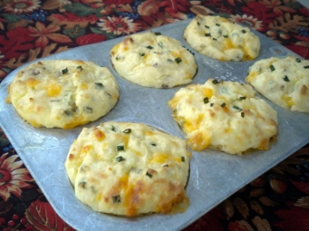 recipe - left over mashed potato puffs