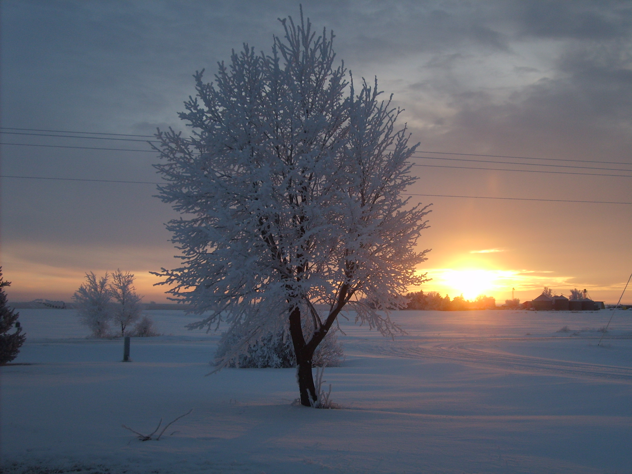 """Nebraska Winter Sunrise"" 