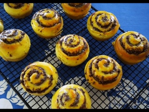 Pg A5 - Recipes - chocolate swirl buns