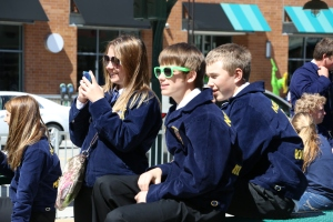 Pg A7 - FFA students enjoy festivities