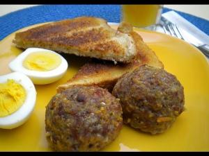 a5 Recipes- Breakfast Bacon & Maple Meatballs