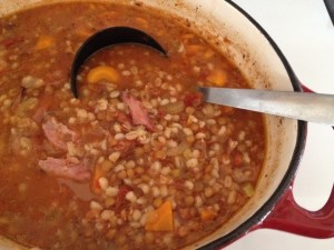 Hearty Lentil Ham Soup