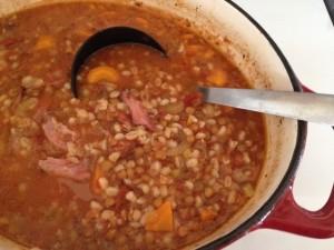 Hearty Lentil Ham Soup