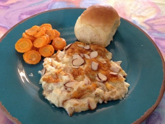 Almond Chicken Casserole2
