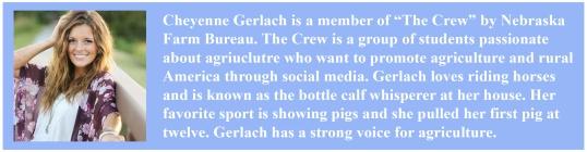 Cheyenne Gerlach bio pic