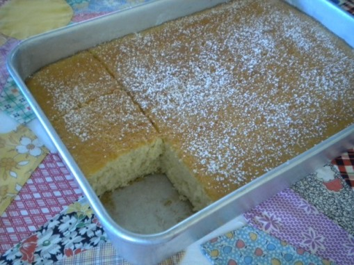 Hot Milk Cake3