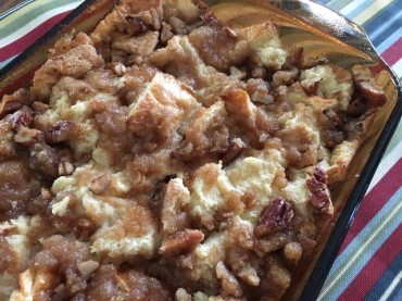 Butter Pecan Bread Pudding