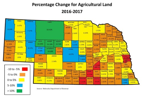 Ag Land Valuations 2017